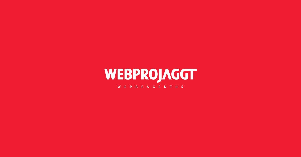 Start - WEBPROJAGGT Werbeagantur GmbH & Co. KG